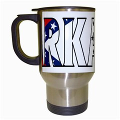 Arkansas Travel Mug (White)