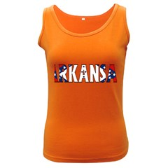 Arkansas Womens  Tank Top (Dark Colored)
