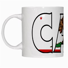 Cali White Coffee Mug