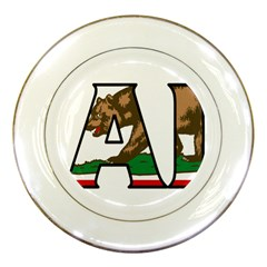 Cali Porcelain Display Plate