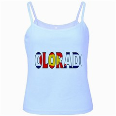 Colorado Baby Blue Spaghetti Tank