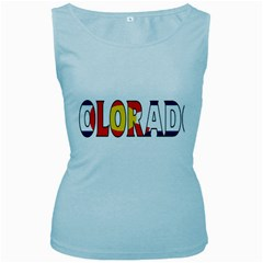 Colorado Womens  Tank Top (Baby Blue)