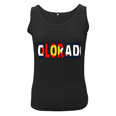 Colorado Womens  Tank Top (Black)