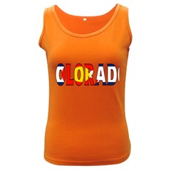 Colorado Womens  Tank Top (dark Colored)