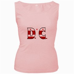 Dc Womens  Tank Top (pink)