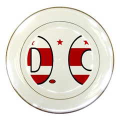 Dc Porcelain Display Plate