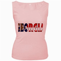 Georgia Womens  Tank Top (Pink)
