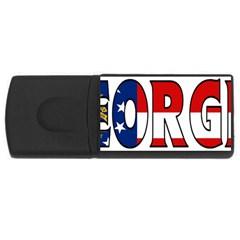 Georgia 2GB USB Flash Drive (Rectangle)