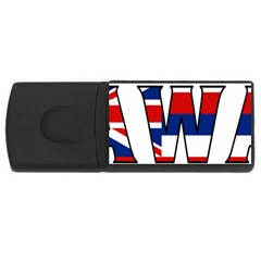 Hawaii 4GB USB Flash Drive (Rectangle)