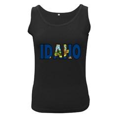 Idaho Womens  Tank Top (Black)