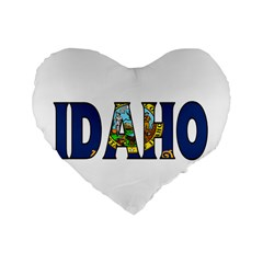 Idaho 16  Premium Heart Shape Cushion