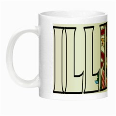 Illinois Glow In The Dark Mug