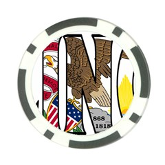 Illinois Poker Chip