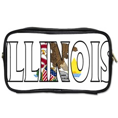 Illinois Travel Toiletry Bag (One Side)