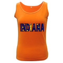 Indiana Womens  Tank Top (Dark Colored)