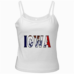 Iowa White Spaghetti Top