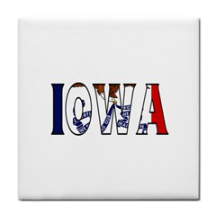 Iowa Face Towel
