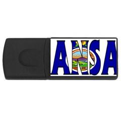 Kansas 4gb Usb Flash Drive (rectangle)