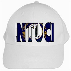 Kentucky White Baseball Cap