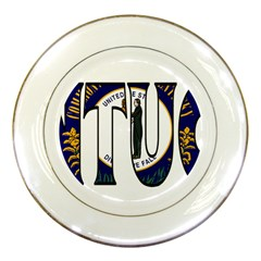 Kentucky Porcelain Display Plate