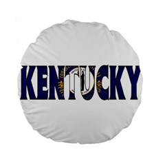 Kentucky 15  Premium Round Cushion