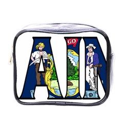 Maine Mini Travel Toiletry Bag (one Side)
