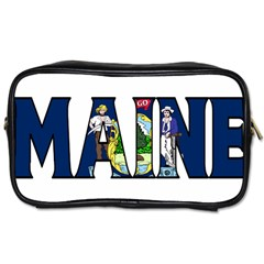 Maine Travel Toiletry Bag (One Side)