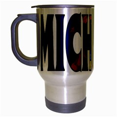 Michigan Travel Mug (Silver Gray)