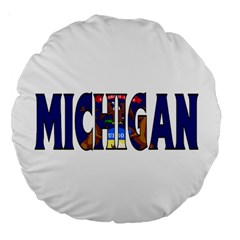 Michigan 18  Premium Round Cushion
