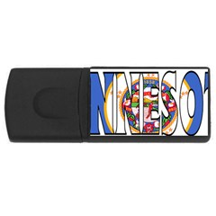 Minnesota 1GB USB Flash Drive (Rectangle)