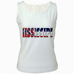Miss Womens  Tank Top (White)