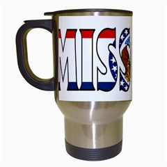 Missouri Travel Mug (White)