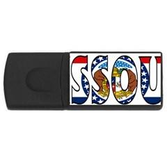 Missouri 4GB USB Flash Drive (Rectangle)