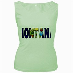 Montana Womens  Tank Top (Green)