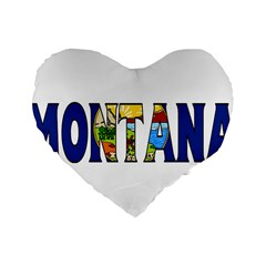 Montana 16  Premium Heart Shape Cushion