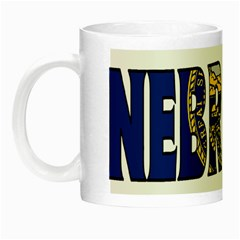 Nebraska Glow In The Dark Mug