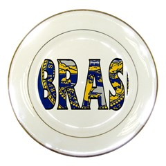Nebraska Porcelain Display Plate
