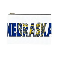 Nebraska Cosmetic Bag (large)