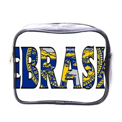 Nebraska Mini Travel Toiletry Bag (one Side)