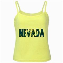 Nevada Yellow Spaghetti Tank