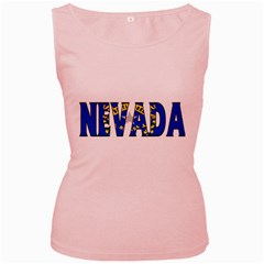 Nevada Womens  Tank Top (Pink)