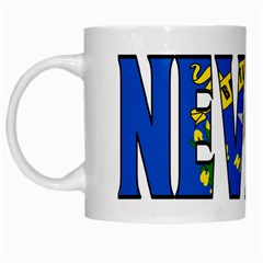 Nevada White Coffee Mug