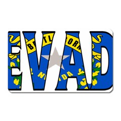 Nevada Magnet (Rectangular)