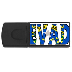 Nevada 4gb Usb Flash Drive (rectangle)