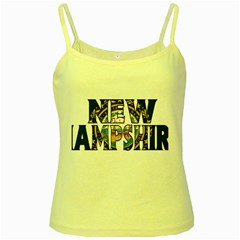 New Hampshire Yellow Spaghetti Tank
