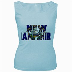 New Hampshire Womens  Tank Top (Baby Blue)