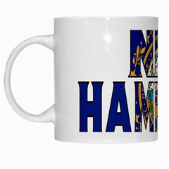 New Hampshire White Coffee Mug