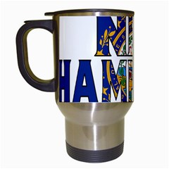New Hampshire Travel Mug (white)