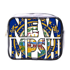 New Hampshire Mini Travel Toiletry Bag (One Side)