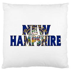 New Hampshire Large Cushion Case (One Side)